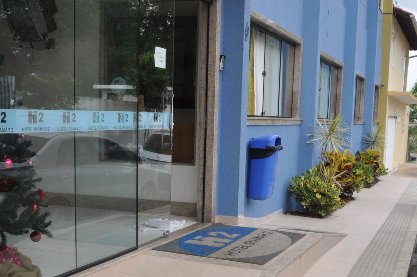 entrada hotel iramar aracruz rua alegria 811