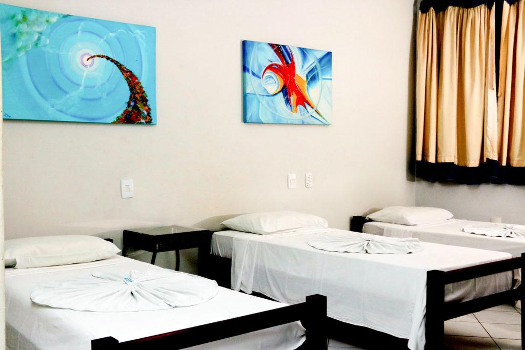 apartamento single triplo hotel iramar aracruz