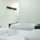 quarto de solteiro duplo hotel iramar aracruz
