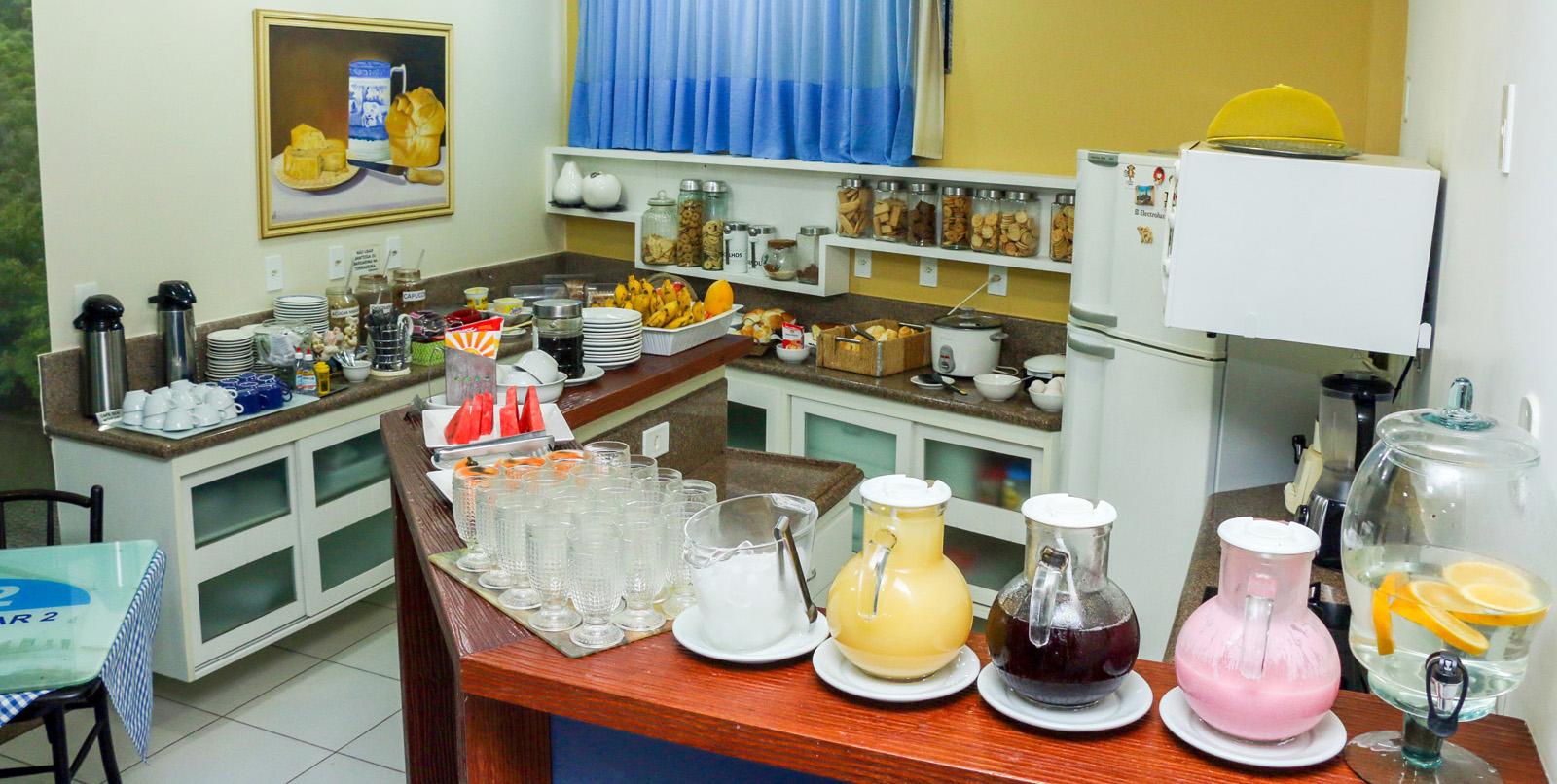 cafe da manha no hotel iramar em aracruz espirito santo